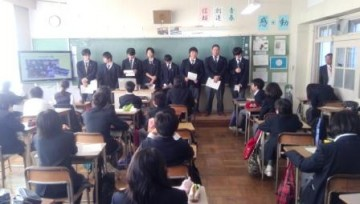 能勢高生による授業(クラブ活動)