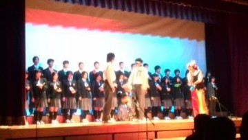 西中学3年生による創作劇
