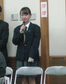 中国上海からの留学生ヤオさん