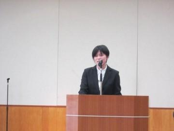 松田嘉織先生の発表