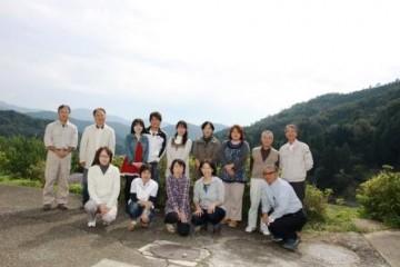 本校PTAのメンバーで記念写真