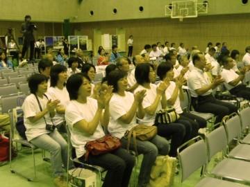 観光甲子園 生徒発表の応援