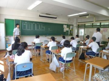 数学Ⅰ・Ⅱの授業(数の成り立ち)