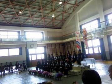 東中学校入学式