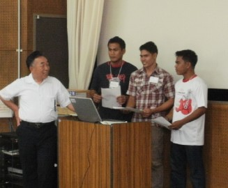 OISCA研修生によるフィリピン語講座