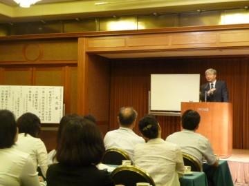 徳永正直先生の講演
