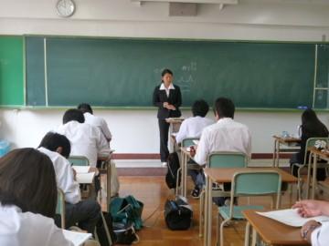 丹羽さんの研究授業