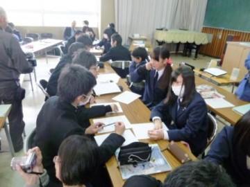 「地域学」の授業風景