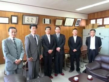 大槌町教育委員会の訪問