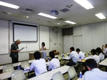 枚方キャンパスでの英会話学習