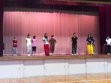 ダンス部のリハーサル