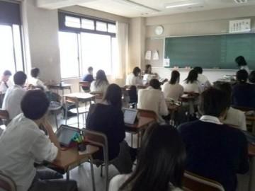 英語の授業でのiPadの活用