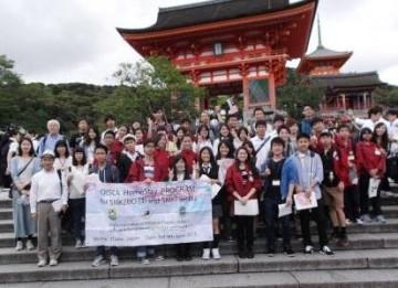 清水寺での記念撮影