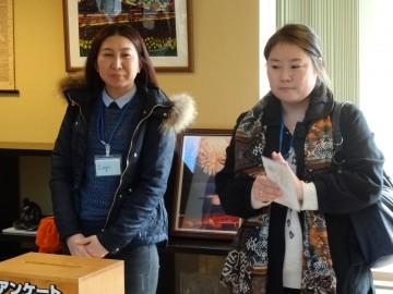 モンゴルからの留学生